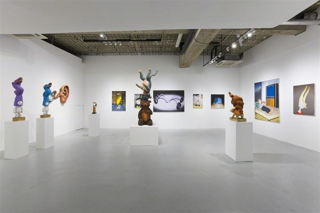 installation view at nca | nichido contemporary art, photo by Kei Okano