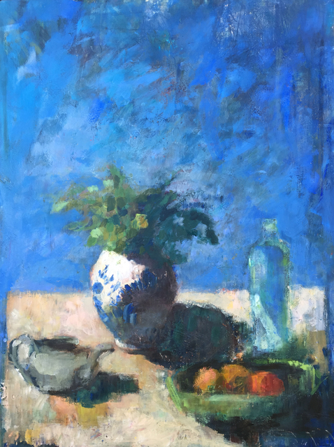 , 'Still Life in Blue,' 2015, Quidley & Company