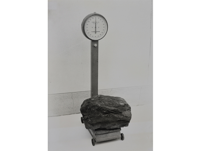 , '0 Weight-scale and a Stone,' 1970, Gallery Hyundai