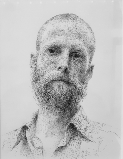 , 'Wessa (Portrait of Dustin),' 2015, Robert Kananaj Gallery
