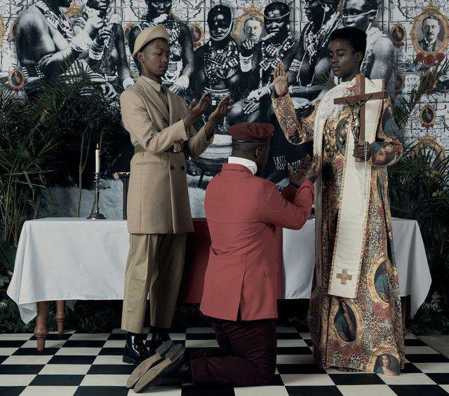 , 'Genesis (Je n'isi isi) VII,' 2016, LUNDGREN GALLERY