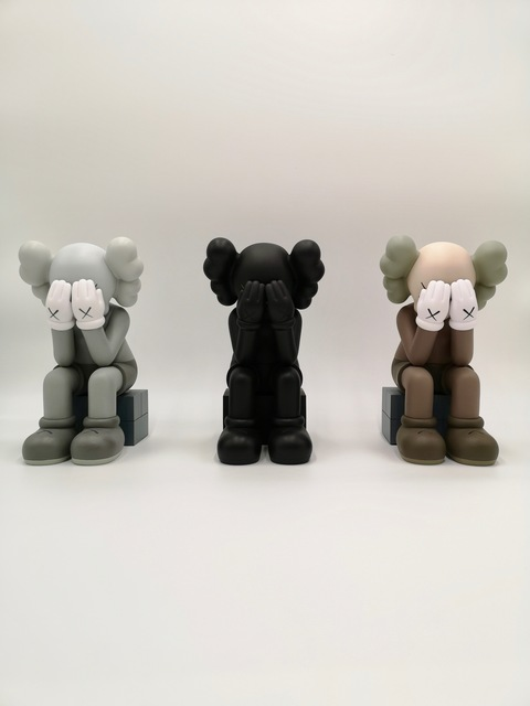 KAWS, ' Passing Through (Complete set of three) 2018 Open Editions', 2018, Plus