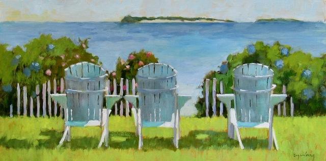 Maryalice Eizenberg, 'Pleasant Bay View', 2019, Addison Art Gallery