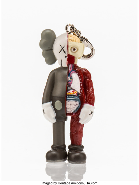 KAWS, 'Dissected Companion, keychain', 2012, Heritage Auctions