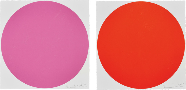 Damien Hirst, 'Quisqualic Acid; and Mepartricin, from 40 Woodcut Spots', 2011, Phillips