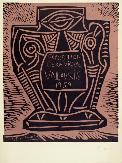 Pablo Picasso, 'Expostion céramique - Vallauris', 1959, Koller Auctions