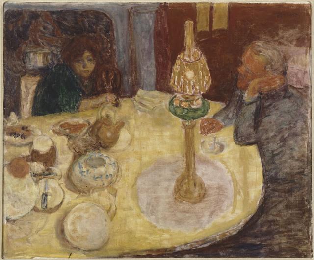 , 'La Soirée sous la lampe (Evening By Lamplight),' 1921, Musée d'Orsay