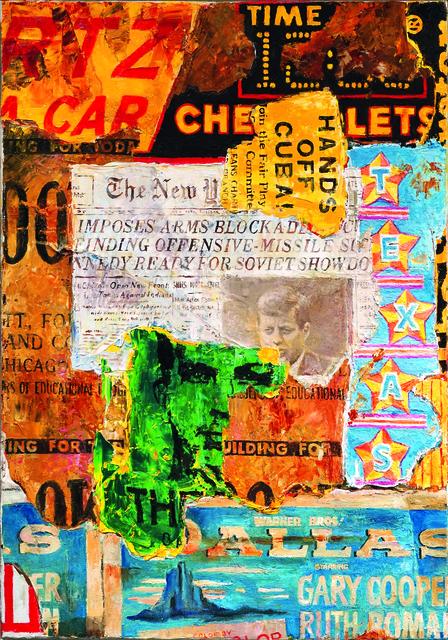 , 'Mauer IV, Element +25 Hands off Cuba,' 2015, Galerie von Braunbehrens
