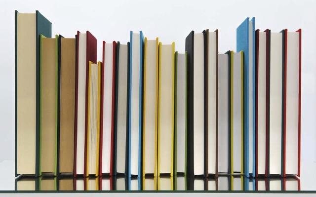 , 'Borges' Bookshelf III,' 2015, Travesia Cuatro