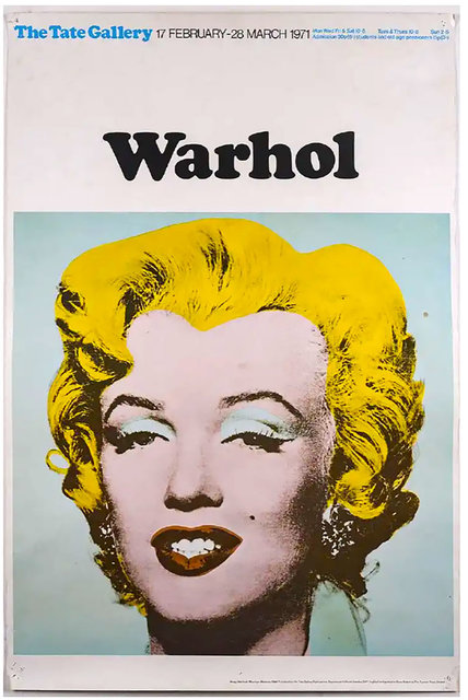 Andy Warhol, 'Marilyn (Tate Gallery, London, 1971)  Exhibition Poster', 1971, Robert Fontaine Gallery