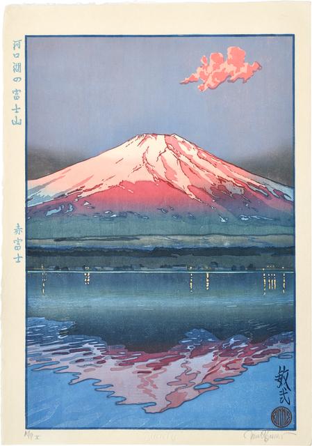 Paul Binnie, 'Famous Views of Japan: Famous Views of Japan: Red Fuji, Fuji from Lake Kawaguchi', 2002, Scholten Japanese Art