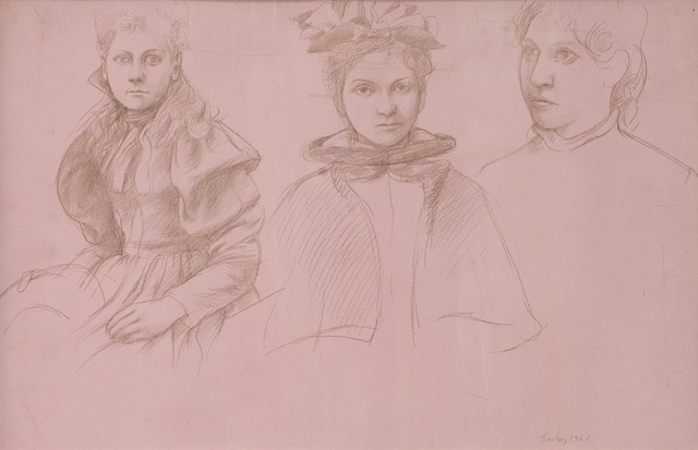 , 'Untitled (Three Women),' 1961, Eckert Fine Art