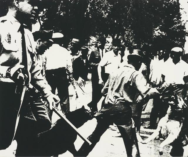Andy Warhol, 'Birmingham Race Riot, from Ten Works by Ten Painters', 1964, Phillips