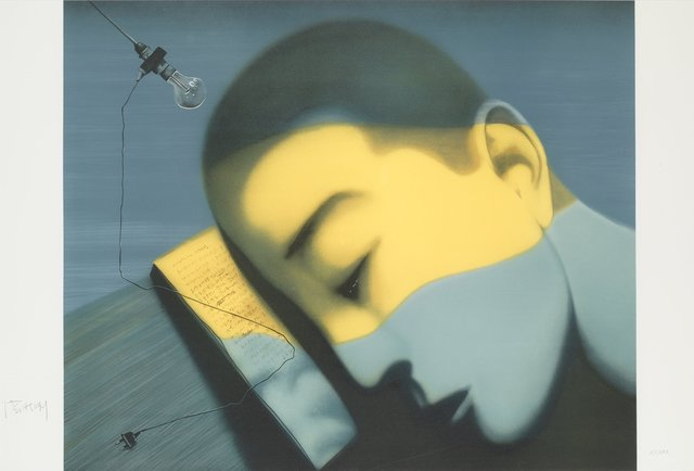 , 'Mercury Sea (from The Storyteller's Enchantments of Zhang Xiaogang),' 2008, Artsnap