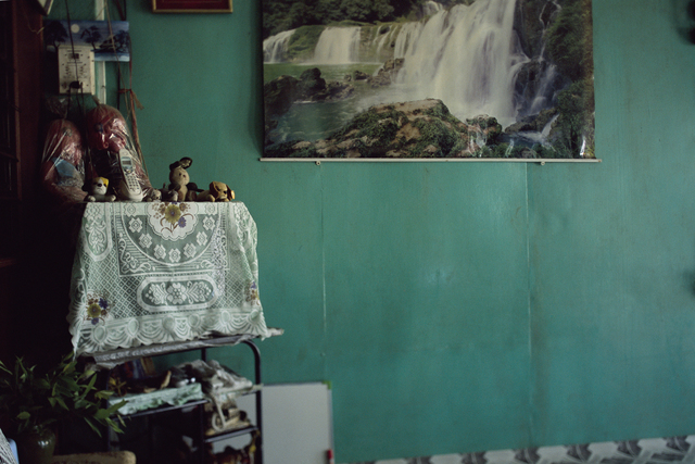 , '31_Still life with waterfall and lace television cover,' 2011, Art Vietnam Gallery