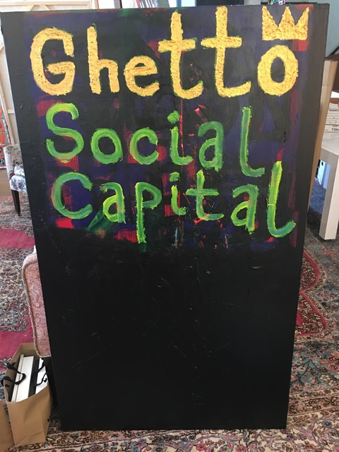 Langston Wesley, 'Ghetto Social Capital', 2017, Corcoran Fine Arts