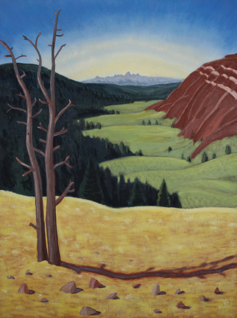 Mike Piggott, 'Veiw from Gros Ventre', 2016, Tayloe Piggott Gallery