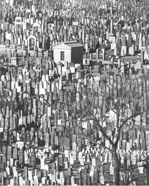 Andreas Feininger, 'Cemetery', Hal Bromm
