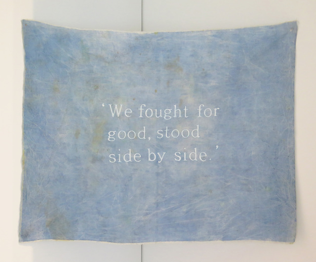 , ''We fought for good, stood side by side.',' 2009, Jane Lombard Gallery