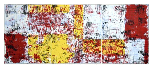 José González Veites, 'Mapa de altas temperaturas', 2011, Print, Screen print on Paper, Anémona Editores