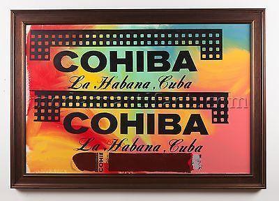 Steve Kaufman, 'Cohiba Cigar 38x50 Original Oil Painting Pop Art Documented', 1996, Modern Artifact