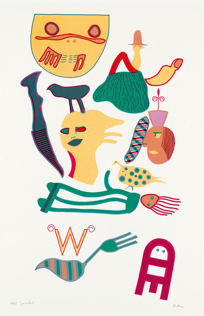 Walter Battiss, 'Guineafowl', Strauss & Co