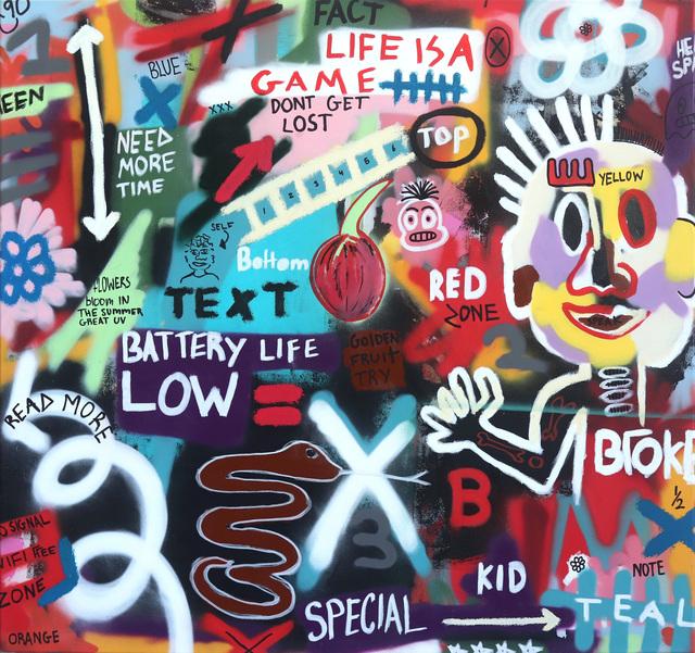 Alex L Reagan, 'Life Is A Game', 2019, Artspace Warehouse