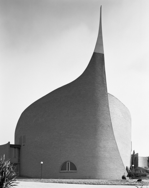 , 'Dutch Reformed Church, completed in 1984; Quelerina, Johannesburg, Transvaal (Gauteng). 3 November 1986,' 1986, Goodman Gallery