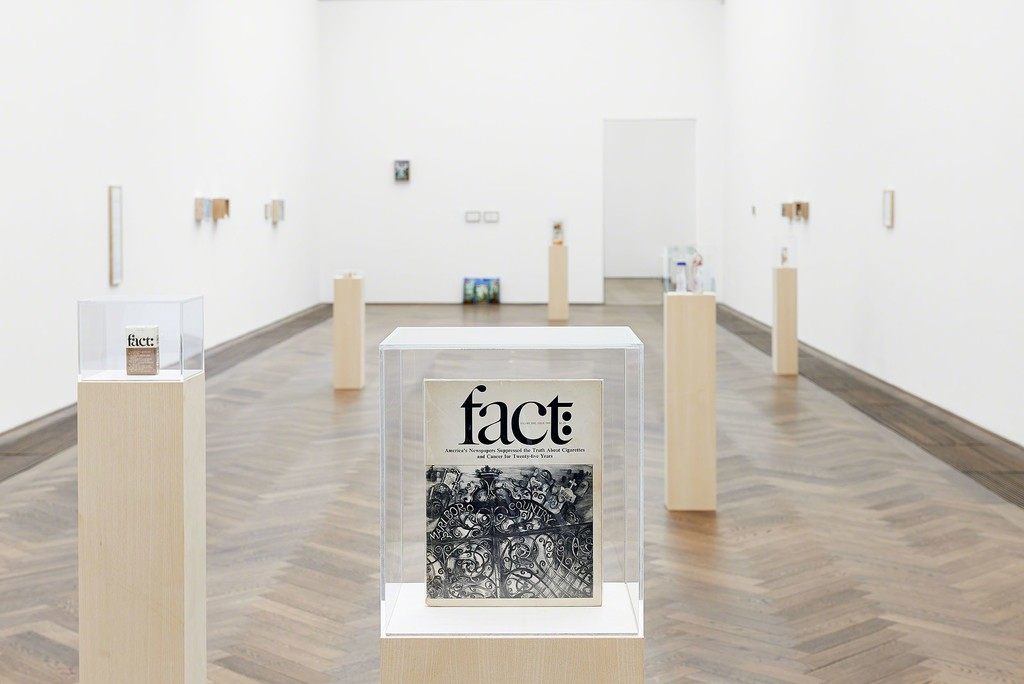 Maryam Jafri, Product Recall: An Index of Innovation (2014-2015) Kunsthalle Basel, 2015, installation, dimensions variable, courtesy the artist. Photo: Phillip Hänger