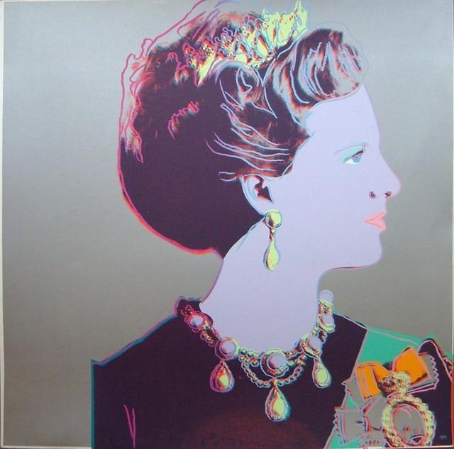 , 'Queen Margrethe,' 1985, Hamilton-Selway Fine Art