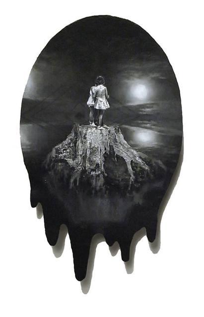 , '想像という魔法を通して裏山を冒険しながら、荒れた世界で生きる事を練習していたあの頃,' 2014, KOKI ARTS