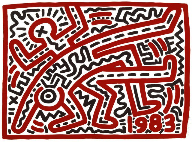 Keith Haring, 'Untitled', 1983, Centre for Fine Arts (BOZAR)