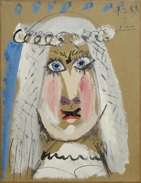, 'La Mariée,' 1969, Galleria Tega