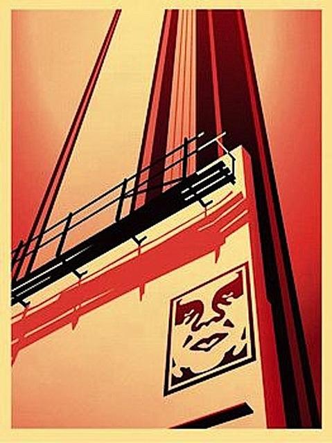 Shepard Fairey (OBEY), 'Sunset & Vine Billboard ', 2011, Gregg Shienbaum Fine Art
