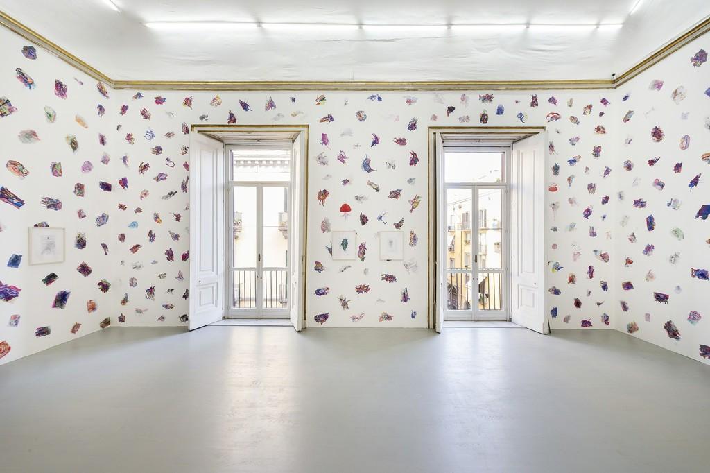Edi Rama - Partial view of the exhibition - May 2016 - Galleria Alfonso Artiaco, Napoli