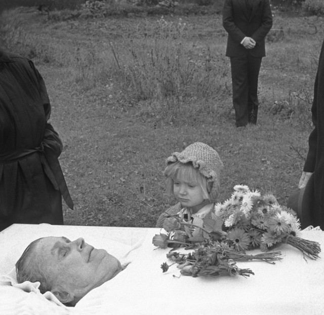 , 'The Funeral, Finland,' 1997, Lee Marks Fine Art