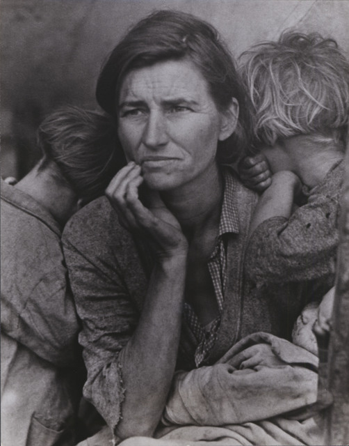 , 'Migrant Mother,' 1936, Scott Nichols Gallery