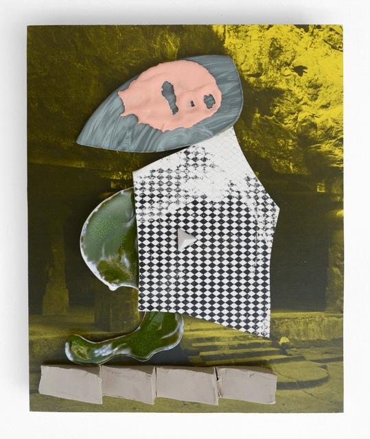 , 'Field Monument #2,' 2017, Asya Geisberg Gallery