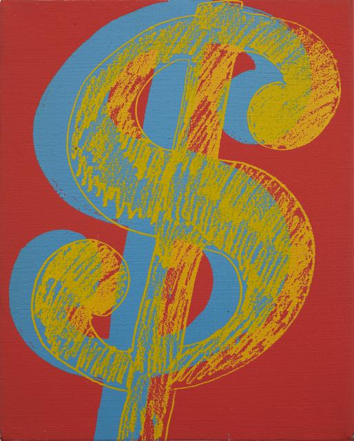 , 'Dollar Sign,' 1982, Lévy Gorvy