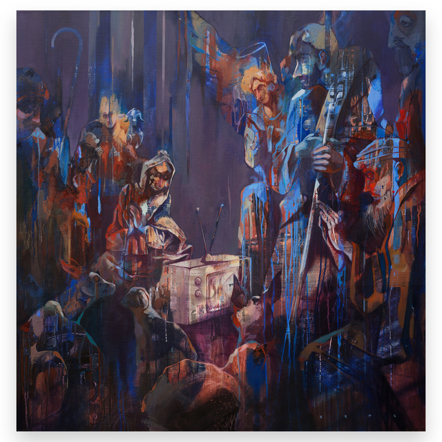, 'Hail to the king,' 2017, Galleria Varsi