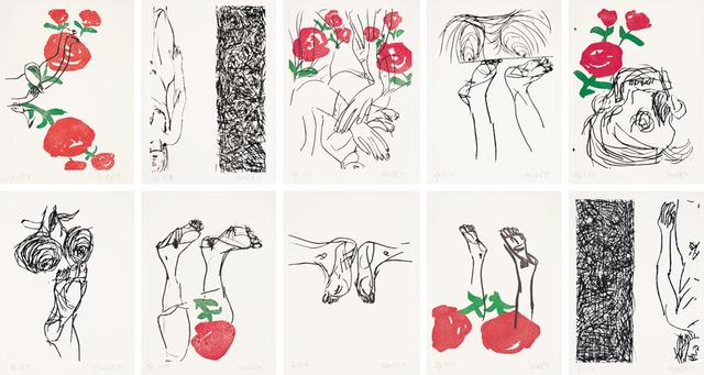 , 'Signs (Robert Creeley),' 1999-2000, Galerie Boisseree