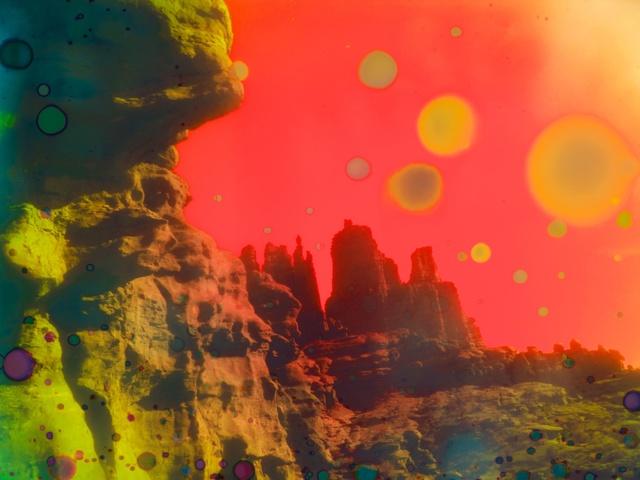 , 'Psychedelic Hills, Utah,' 2014, LAMB Arts
