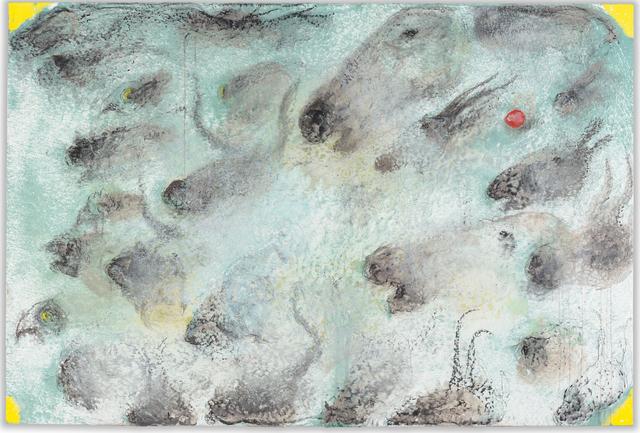 , 'Quatre Coins Jaunes,' 2013, Ben Brown Fine Arts