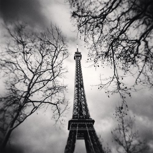Michael Kenna, 'Eiffel Tower, Study 10, Paris, France', 2013, Weston Gallery