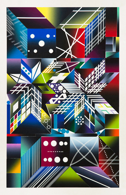 Polly Apfelbaum, 'Atomic Mystic Aura 17', 2017, Durham Press, Inc.