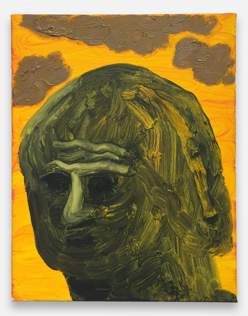 , 'Portrait of the Thinker on Mars,' 2016, Fleisher/Ollman