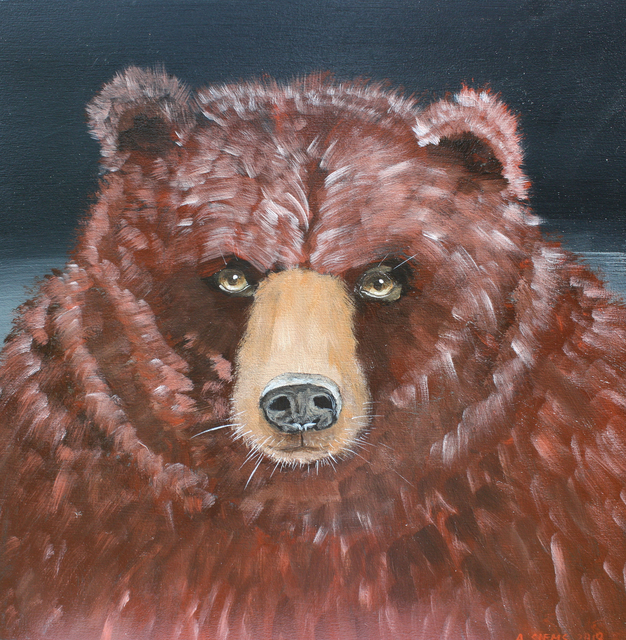 , 'Bear Face,' , Gail Severn Gallery