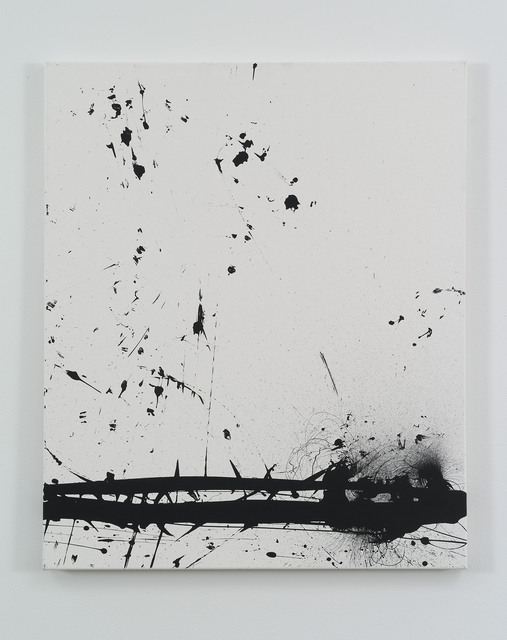 , 'Black Hawk Paint: September,' 2008, bitforms gallery