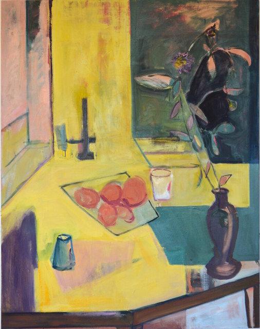 Emi Winter, 'Still life with Dahlia', 2015, Painting, Oil on canvas, Quetzalli Arte y Diseño