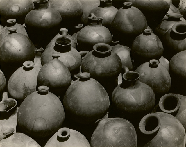 Edward Weston, ' Heaped Black Ollas, Oaxaca', 1926, Edwynn Houk Gallery